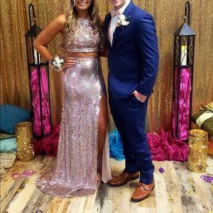 Sherri hill prom dress. Two piece
